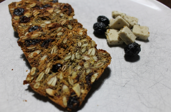 Toasted nut and seed crackers grain free – paleo –primal