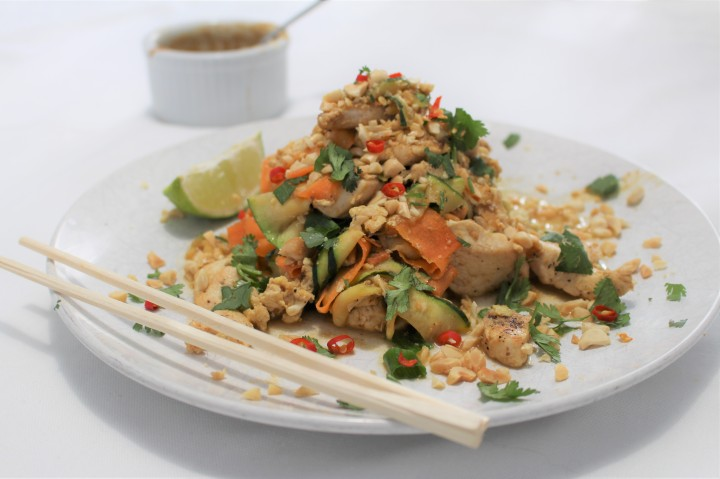 Pad Thai – Grain free – Low Carb -Delicious