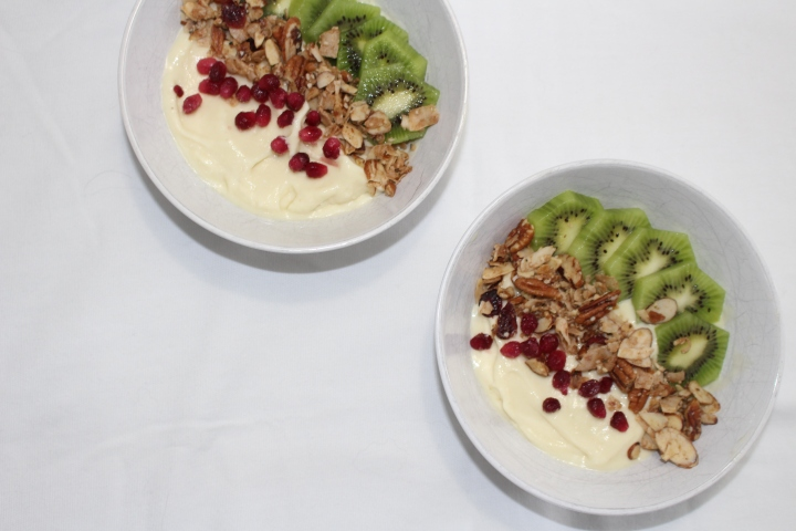 Dole Whip inspired smoothiebowls