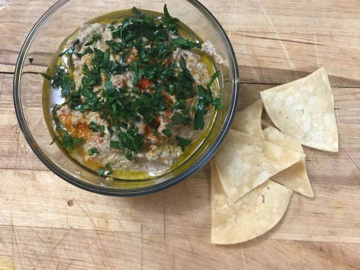 Baba ganoush – low carb, dairy free, grain free, vegandip